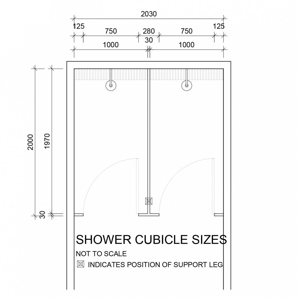 Shower Cubicle Sizes