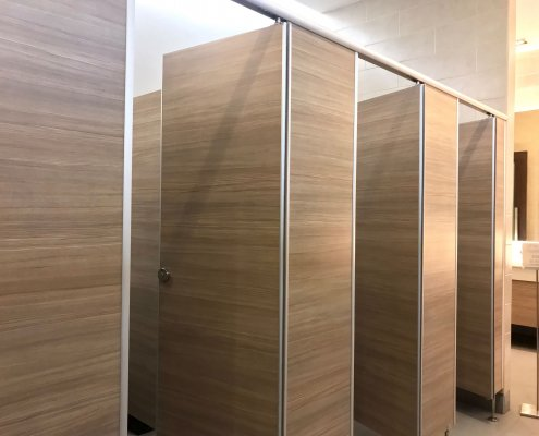 washroom cubicles examples