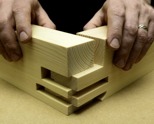 Photo of Woodworking Joint Detail